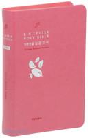 읽기 편한 큰글자 성경전서 소 단본 (색인/이태리신소재/무지퍼/핑크)