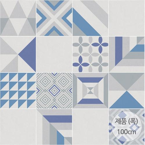 RSF-15 지중해 하늘빛 타일/바닥재/바닥리폼/시트지/