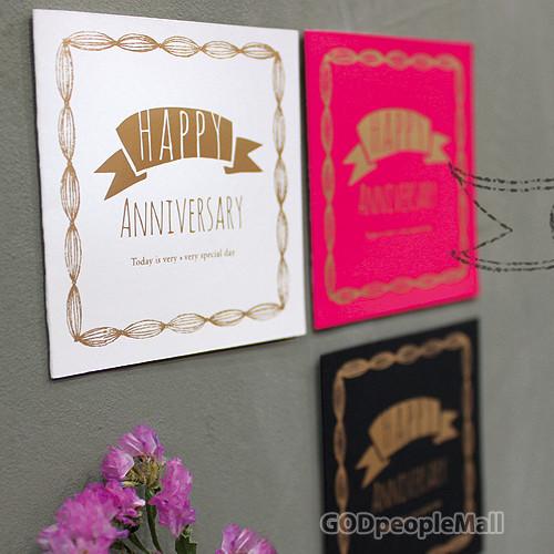 Happy Anniversary mini card