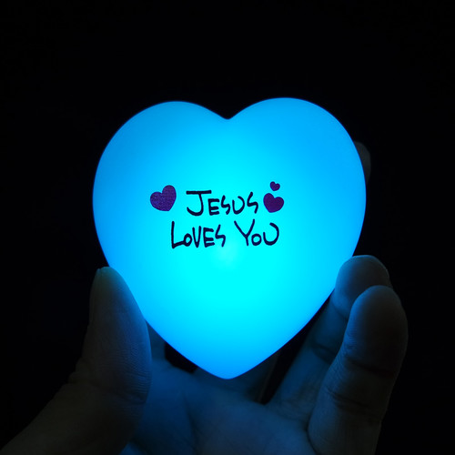 예수님사랑해요 무드등 - Jesus Loves You (영어 버전)