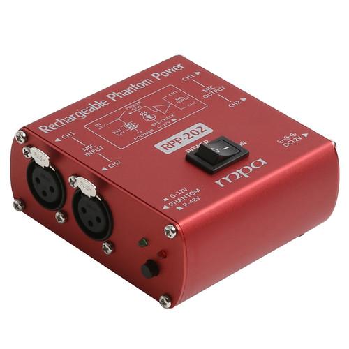 [충전식 2CH 휴대용/이동형 팬텀파워] MPA RPP202