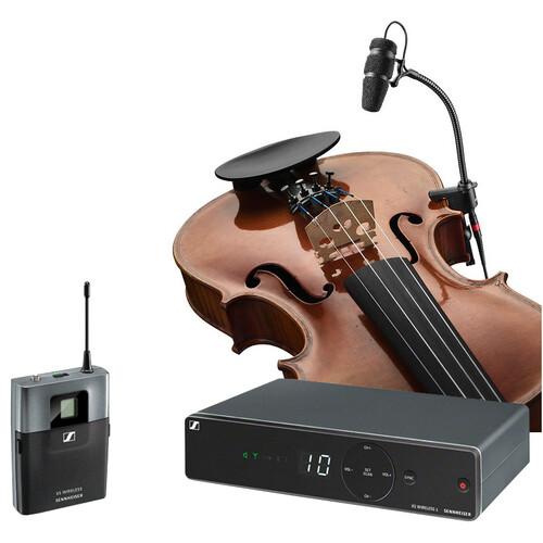 [바이올린용 무선마이크] SENNHEISER XSW1 / DPA VO4099V / DAD6034[젠하이져타입]