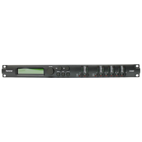 AudioHammer D2600F 스피커 매니지먼트