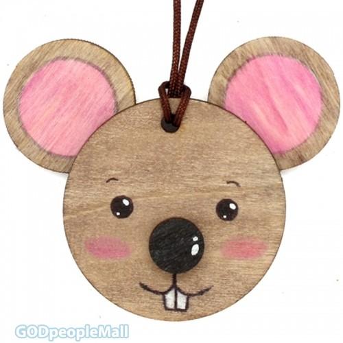 new나무목걸이만들기-생쥐