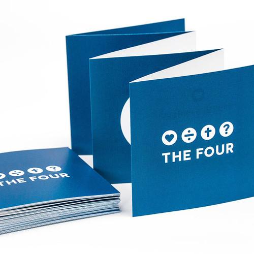 THE FOUR(더포) 전도지(10장세트)