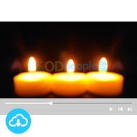 예배용 영상클립4 by 니카 / 촛불 / 성탄절 / 대림절셋째주 / 이메일 발송(파일)