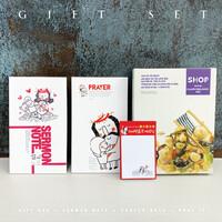 캠프코리아 선물세트15.가시면류관 노트세트 (기도노트 설교노트 포스트잇)