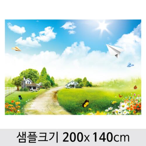 봄배경현수막-153 ( 200 x 140 )