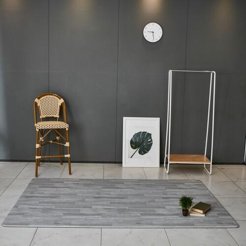 PVC 양면 바닥 매트 - 쪽마루우드