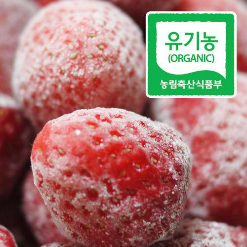 순창제일교회 조상단 권사의 유기농 친환경 아이스 딸기(4kg)