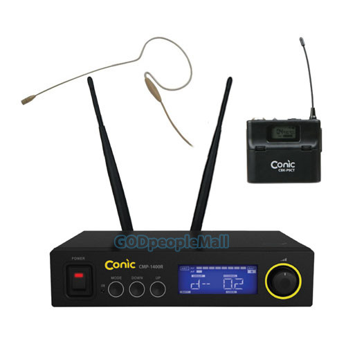 Conic CMP-1400 + CO5w 무선마이크