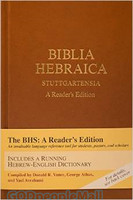 Biblia Hebraica Stuttgartensia: A Readers Edition (Stamped Case with Jacket BHS