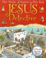 Jesus Detective: A Puzzle Search Book (HB)