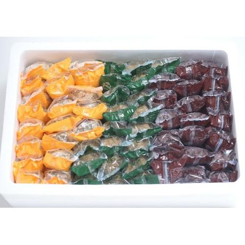 제주 오몰오몰 오메기떡 3종 혼합 30개, 45개, 60개 (선물용)