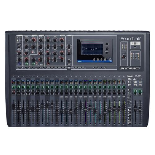 SOUNDCRAFT SI IMPACT 디지털 믹서