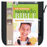 NIrV: Pure Voice New Testament on 15 CDs (신약 오디오 성경)