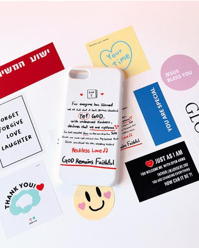 [스티커팩] Gods Mind , sticker pack ver.1 하나님의 마음 스티커 모음집