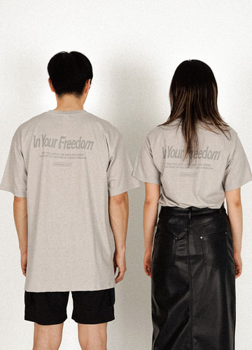 IN YOUR FREEDOM T-shirts (gray)