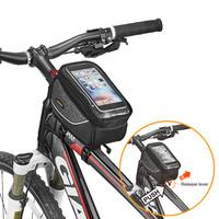 아이베라 스마트폰 거치 가능 슬라이드 탈부착 방식 자전거 탑튜브 가방 TB18