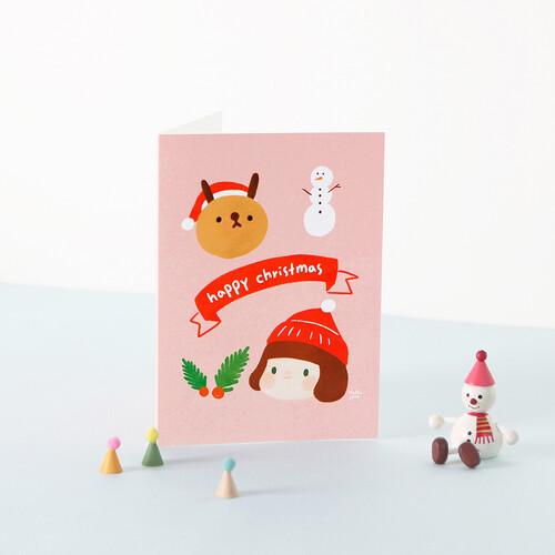 그레이스벨 크리스마스 카드 05.제인과 치치