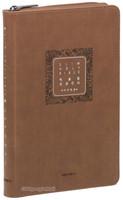 빅슬림 성경전서 중 단본(색인/이태리신소재/지퍼/브라운)