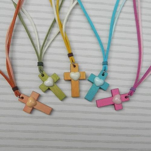 하트 십자가 Handmade 목걸이(Heart Cross)- (소)
