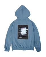 RE-IYL 기모 후드집업 (light blue)