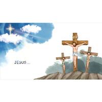 교회부활절현수막-257(십자가) ( 180 x 100 )