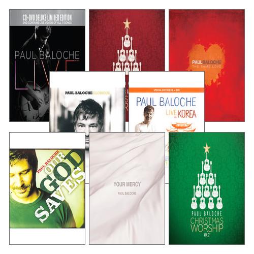 Paul Baloche 폴 발로쉬 찬양 음반세트(전8종)