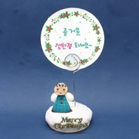크리스마스 메모꽂이 만들기 - 아기천사(5인용세트)