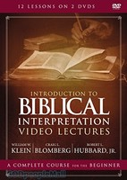 (DVD) Introduction to Biblical Interpretation Video Lectures: A Complete Course for the Beginner
