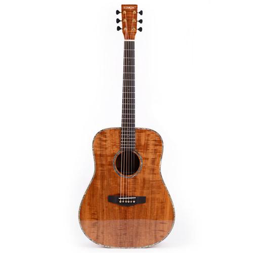 쟈마 WS-D100B (All Blackwood) 어쿠스틱 기타