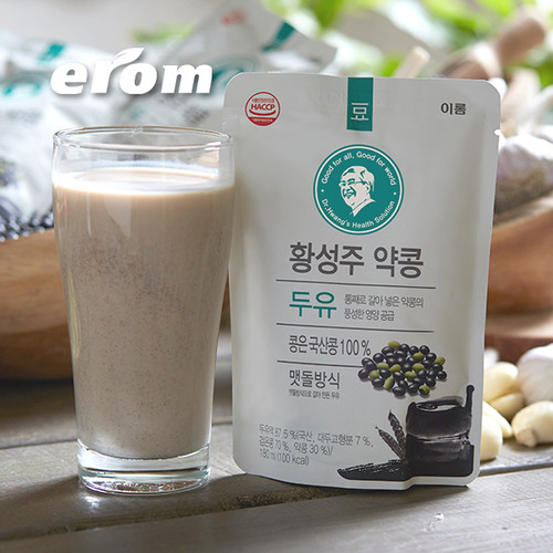 황성주 국산콩 약콩두유 4박스 (180ml*80팩)