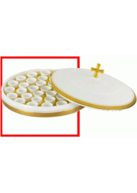 도자기 성찬 포도주그릇 밑판 (하 - 잔35인포함) - 뚜껑 제외