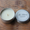 cotton tin candle