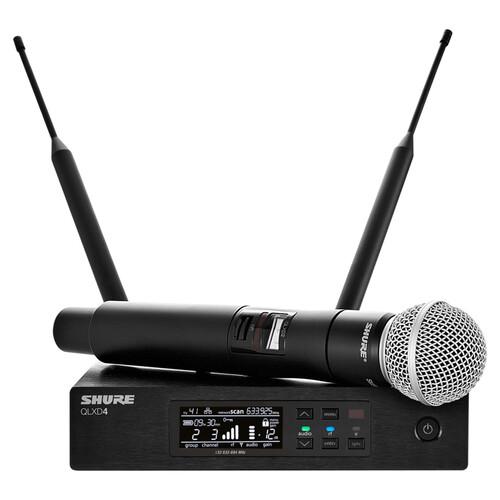 SHURE QLXD24/SM58 디지털 무선마이크