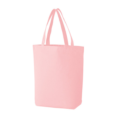스탠다드 캔버스 무지 에코백-라이트 핑크