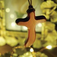 [블레슈] 굿트리 S형 샤벨나무 차량용 십자가목걸이 - 성경학교선물 (국내제작)