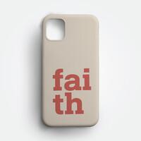 성경말씀폰케이스 심플-01 믿음(Faith)