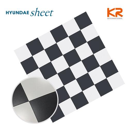 HMT-99316 체스 메탈 5cm 모자이크 타일_1장