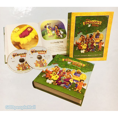 The Beginners Bible Deluxe Ed. - Timeless Childrens Stories (Book 2CD) 개정판