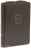 Slim Holy Bible 성경전서 특소 합본 (색인/지퍼/다크브라운)