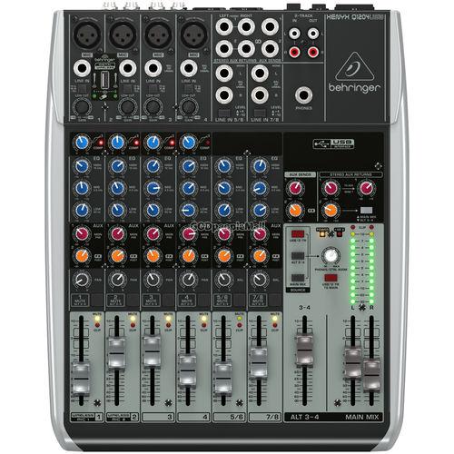 베링거 XENYX Q1204USB 아날로그 믹서