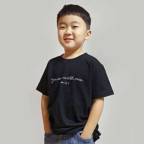 갓피플 반팔 티셔츠 - 유아위드미