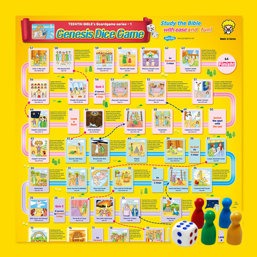 Genesis Dice Game(창세기 주사위게임 영문판)