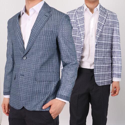 양복 마이 남성 정장 자켓 인견 여름 콤비 신사복