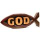 익투스 장식 (대) - GOD