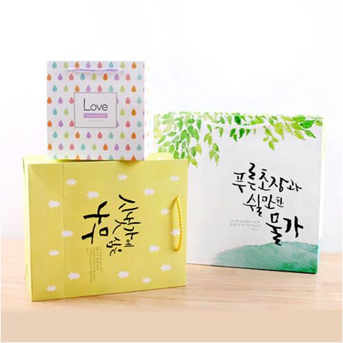 [선물포장용]고품격 말씀 쇼핑백(3종) 6830