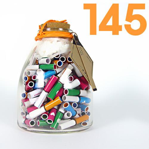 타임캡슐편지 145일 네가지마음 유리병편지