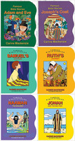 Famous Bible Stories, 6권 세트 (Board Books)